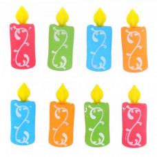 Dress It Up Shaped Novelty Button Packs - Candles
