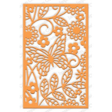 impression obsession Butterfly Block die set 396ZZ
