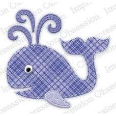 Impression Obsession Patchwork Whale die 424K
