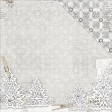 BoBunny Winter Wishes collection, Wonderful x 2 sheets