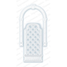 impression obsession Arch and trellis die set 037V
