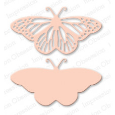 impression obsession Fancy Butterfly die set 059N