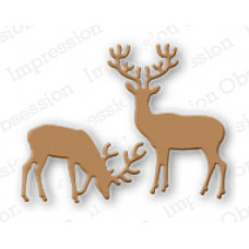Impression Obsession Small deer die set 117C