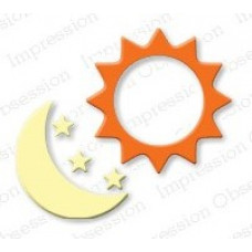 Impression Obsession Sun and Moon die set 163C