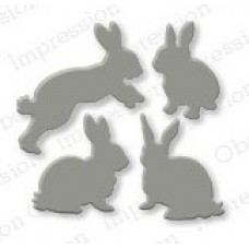 Impression Obsession Rabbits die set 168C