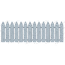 Impression Obsession Picket Fence die set 084V