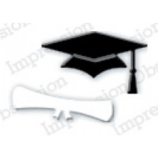 Impression Obsession Mini mortarboard Set Die  288A