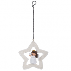 Vivid Arts - Hanging Christmas Mini Star - Angel
