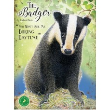 The Badger - Metal Wall Sign - retro vintage style sign  (150 x 200mm) Metal Sign