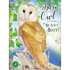 The Barn Owl - Metal Wall Sign - retro vintage style sign  (150 x 200mm) Metal Sign