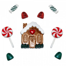 Dress It Up Shaped Novelty Button Packs - Candy Cottage
