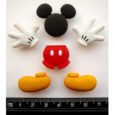 Disney EVERYTHING MICKEY - Novelty Craft Buttons & Embellishments by Dress It Up