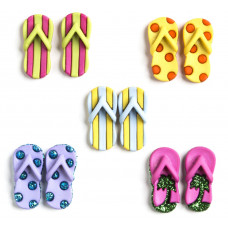 Dress It Up Shaped Novelty Button Packs - Fab Flops
