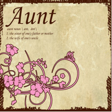 Sugartree paper  Generations range, Aunt