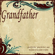 Sugartree paper  Generations range, Grandfather