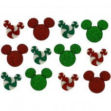 Disney Christmas holiday candies - Novelty Craft Buttons & Embellishments by Dress It Up