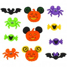 Disney Mickey and Minnie Halloween - Novelty Craft Buttons & Embellishments by Dress It Up