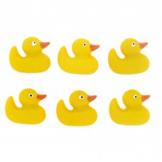 Dress It Up Shaped Novelty Button Packs - rubber duck