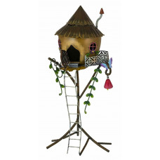 Fountasia Fairy Straw Tree House Fairy Kingdom