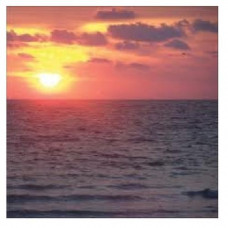 Sugartree paper  Naturals range, SUNSET OVER THE SEA