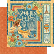 Graphic 45  World's Fair collection, World's Fair